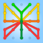GeoBoard relaxing puzzle game drawing lines shapes APK MOD