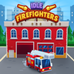 Idle Firefighter Tycoon – Fire Emergency Manager APK MOD