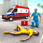 Police Ambulance Games: Emergency Rescue Simulator APK MOD