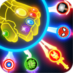 Super Hero Knife Battle_Free App APK MOD