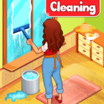 Big Home Cleanup and Wash : House Cleaning Game APK MOD