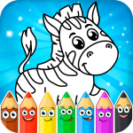 Coloring pages for children: animals APK MOD