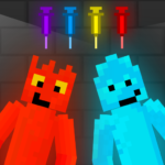 Fire and Water Playground: Red and Blue Ragdoll APK MOD