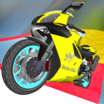 Motorcycle Escape Simulator – Fast Car and Police APK MOD